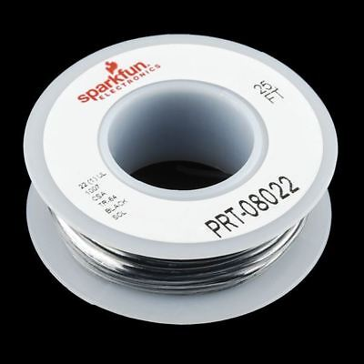 Hook-up Wire - Black - Solid Core • 4.66£