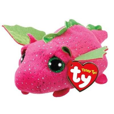 $ CDN16.94 • Buy TY Beanie Boos Teeny Tys 4  DARBY Pink Dragon Stackable Plush Animal Toy MWMTs