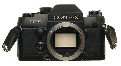 $ CDN362.97 • Buy Contax RTS II Quartz 35mm SLR Film Camera Body Only Body Cap Instruction Manual
