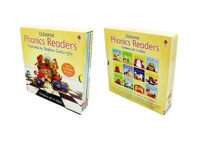 £30.60 • Buy Usborne Phonics Young Readers 12 Picture Books Box Set Paperback