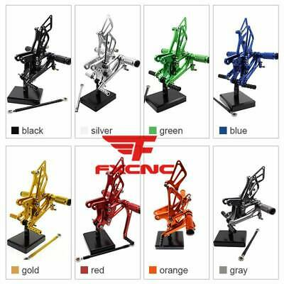 $85.55 • Buy For Ninja ZX6R ZX636 2005 2006 2007 2008 05-08 Rear Sets Rearset Foot Pedals