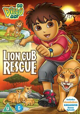 Go Diego Go: Lion Cub Rescue [DVD] - DVD  BYVG The Cheap Fast Free Post • 3.49£