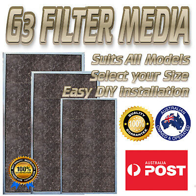 AU16.99 • Buy Air Conditioner Filter Suits All Ducted Air Con Models Select Your Size G3