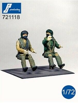 PJ Production 721118 1/72 Modern RAF Pilots Seated In Aircraft Resin Figures • 6.49£