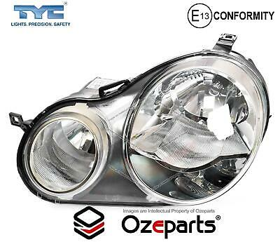 AU133.06 • Buy LH LHS Left Hand Head Light Lamp Twin Round For VW VolksWagen Polo 9N 02~05