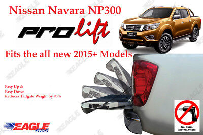To Fit Nissan Navara NP300 Tailgate Assistant 2016 On Easy Down Easy Up Stystem • 187.50£