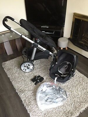Icandy Apple 2 Pear Pushchair With Maxi Cosi Car Seat (adapters Included)   • 200£