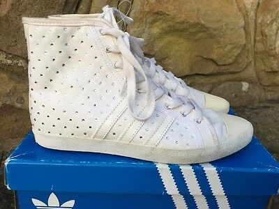Adidas Originals Adria Mid Sleek W Trainers Boots V24153 - White UK5/US6.5 £85 • 49.99£