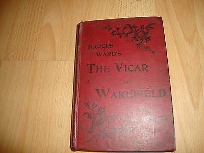 The Vicar Of Wakefield By Oliver Goldsmith C1900 • 7.95£