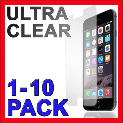 AU2.95 • Buy Ultra Clear Screen Protector Film Guard Cover For Apple IPhone 5 5s 6 7 8 Plus X
