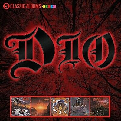 $18.54 • Buy Dio - 5 Classic Albums [New CD] Boxed Set, UK - Import