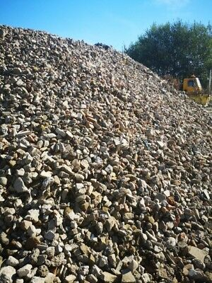 £8 • Buy 3  RECYCLED STONE,  Clean, Ideal For Gabions/Track, Ground Drains / Soak Aways.