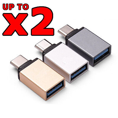 AU6.49 • Buy USB 3.1 Type C Male To USB 3.0 A Female Converter USB-C Data Cable OTG Adapter