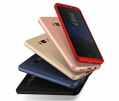 AU7.25 • Buy 360 Hybrid Tough Case Cover Tempered Glass For Samsung Galaxy S5 S6 S7 S8 Plus