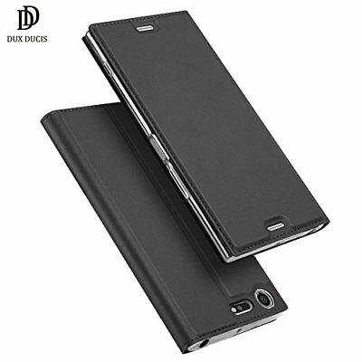 AU14.99 • Buy Sony XZ Premium Flip Cover,DUX DUCIS Leather Flip Case For Sony Xperia XZ Premiu