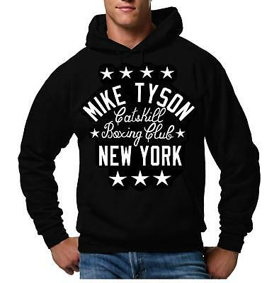 $35.50 • Buy Mike Tyson Catskill New York Boxing Boxer Club Pullover Hoodie Hooded Sweatshirt