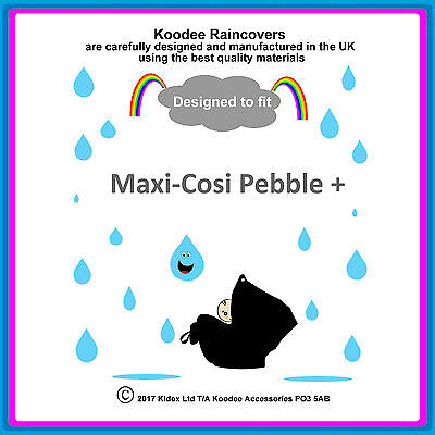 £9.99 • Buy RAINCOVER By Koodee Designed To Fit  Maxi Cosi Pebble +  Car Seat Made In UK BN