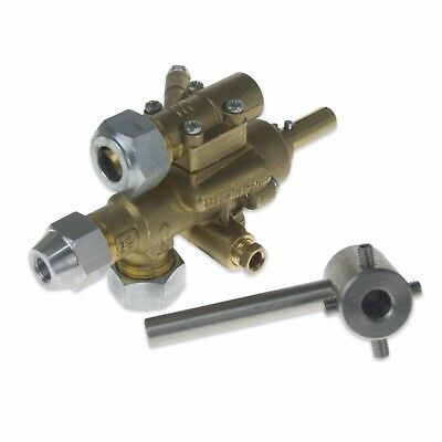 Falcon Chinese Wok Burner Cooker Range Gas Control Valve With Brass Head Pel • 159£