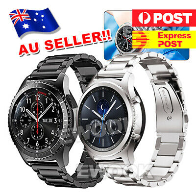AU10.85 • Buy Band Strap Stainless Steel Wristband For Samsung Gear S3  Frontier/Classic Watch