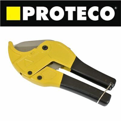 Ratchet 42mm Pipe Cutter Hose PVC Cutting Water Air Tube Nylon Plastic Plumbing • 9.99£