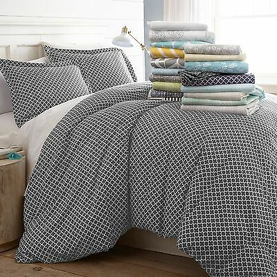 $23.99 • Buy Hotel Luxury 3 Piece Patterned Duvet Cover Sets - 8 Beautiful Designs