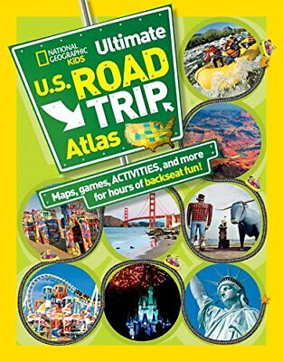 National Geographic Kids Ultimate U.S. Road Trip Atlas: Maps... By Crispin Boyer • 5.49£