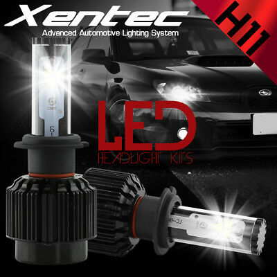 $34.29 • Buy XENTEC LED HID Headlight Kit 388W 38800LM H11 6000K For 2005-2013 Volvo S60