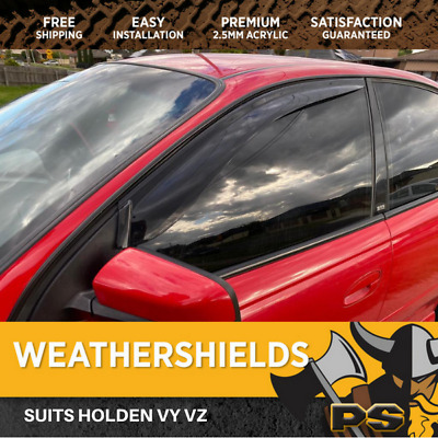 AU69 • Buy Superior Weathershields For Holden Commodore VT VX VU WH WK WL VY VZ