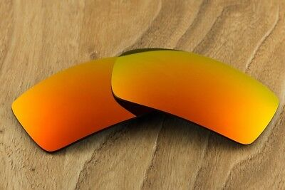 713a66bcc954a Dark Orange Fire Ruby Red Polarized Mirror Sunglass Lenses For Oakley  Eyepatch 2 • 11.99