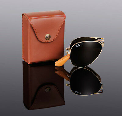 AU299.95 • Buy $800 RAY-BAN 22KT GOLD PLATED Folding AVIATOR Sunglasses RB 3479KQ 001/M7 3025