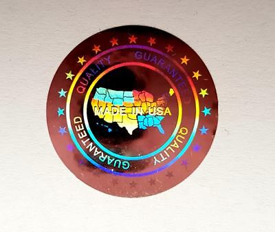 £5.99 • Buy Hologram Labels Sticker Warranty Void If Removed Tamper Proof  Made In USA