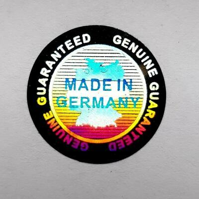 £5.99 • Buy Hologram Labels Sticker Warranty Void If Removed Tamper Proof  Made In Germany