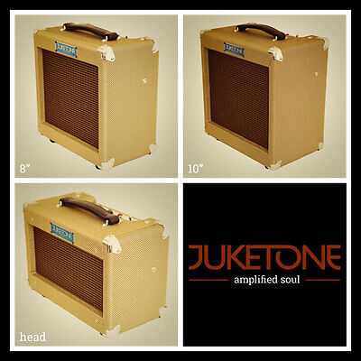 £385 • Buy Juketone Boutique 5W Class A Valve Vintage Style Tweed Guitar Amplifier Tube Amp