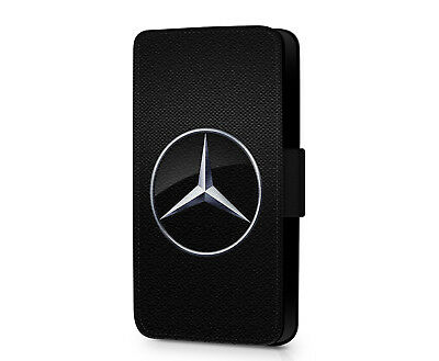 New Sport Mercedes German AMG Benz Faux Leather Flip Phone Case Cover Wallet • 10.19£