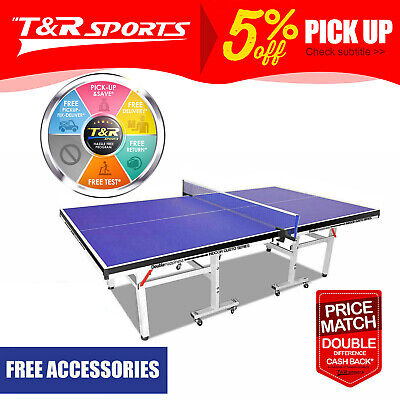 AU419.99 • Buy PRIMO 19MM Table Tennis Table / Ping Pong Table W/ Net Set Tournament Quality*