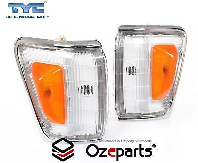 AU38.18 • Buy Pair LH+RH Corner Light Lamp For Toyota Hilux 4WD 4 Runner Surf 88~91 Chrome