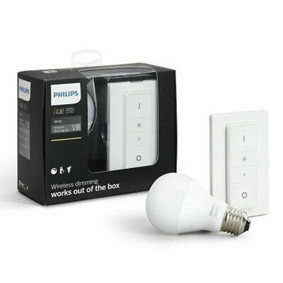 AU75 • Buy Philips Hue Wireless Dimming E27 9.5W Warm White Light Bulb/800LM/Switch Dimmer