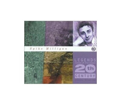 Spike Milligan - Legends Of The 20th Century - Spike Milligan CD 9QVG The Cheap • 5.94£