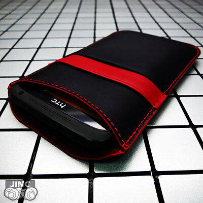 AU19.95 • Buy Leather Sleeve Carry Case Cover Pouch For HTC ONE MINI 2/II/MINI2/3G/4G LTE