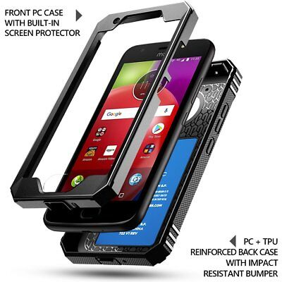 AU14.81 • Buy Motorola Moto E4 Case | Poetic Rugged Shockproof Dual Layer Cover