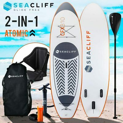 AU469 • Buy SEACLIFF Stand Up Paddle Board SUP Inflatable Paddleboard Kayak Surf Board