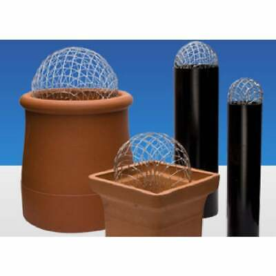 £3.99 • Buy Chimney Guard   Cowl Wire Balloon   Galvanised   Bird Or Leaf Guard   No Fixings