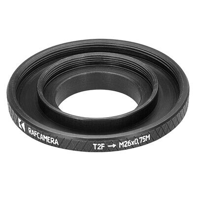 $36.50 • Buy T2 Female To M26x0.75 Male Thread Adapter For Binoviewers, With Filter Mount