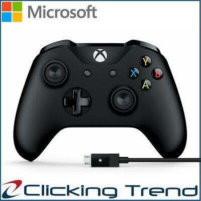 AU79.95 • Buy Microsoft Xbox Controller Cable Windows PC Game Console Gamepad Wired Genuine
