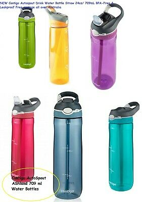 AU20.19 • Buy 2019 Contigo Autospout Drink Water Bottle Straw 24oz/ 709mL BPA-Free & Leakproof