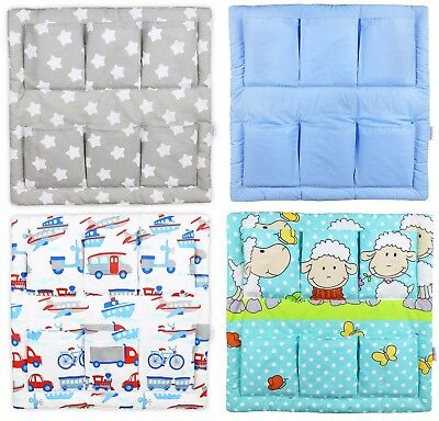 Tidy Organiser Cot Bed Nursery Hanging Storage Many Designs 6 Pockets Babymam • 11.98£