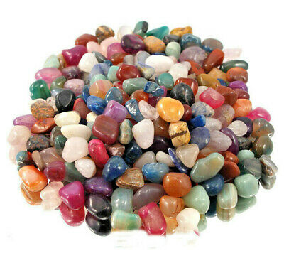 100 Gms Best Bright Mix Healing Crystals Tumble Stones Chakra Gemstones Mineral  • 5.99£