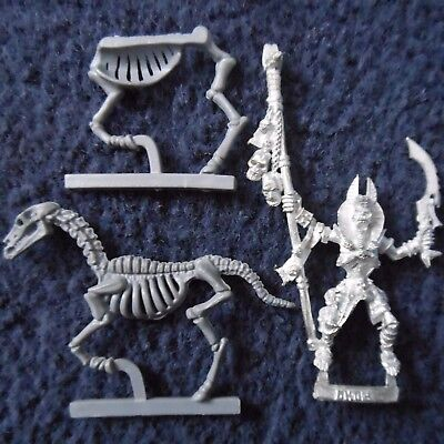 2002 Undead Mounted Liche Priest Games Workshop Warhammer Tomb Kings Army Lich • 33£