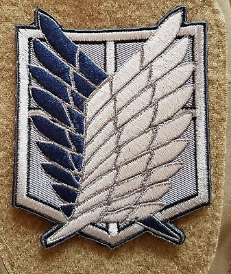 AU8.28 • Buy Attack On Titan The Survey Corps Wings Of Freedom Tactical Embroidered Patch