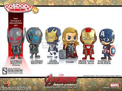$ CDN191.14 • Buy MARVEL Avengers Age Of Ultron Collectible Set Vinyl Collectible Hot Toys Cosbaby